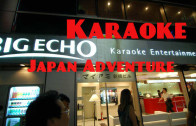 Karaoke singing, an adventure in Japan