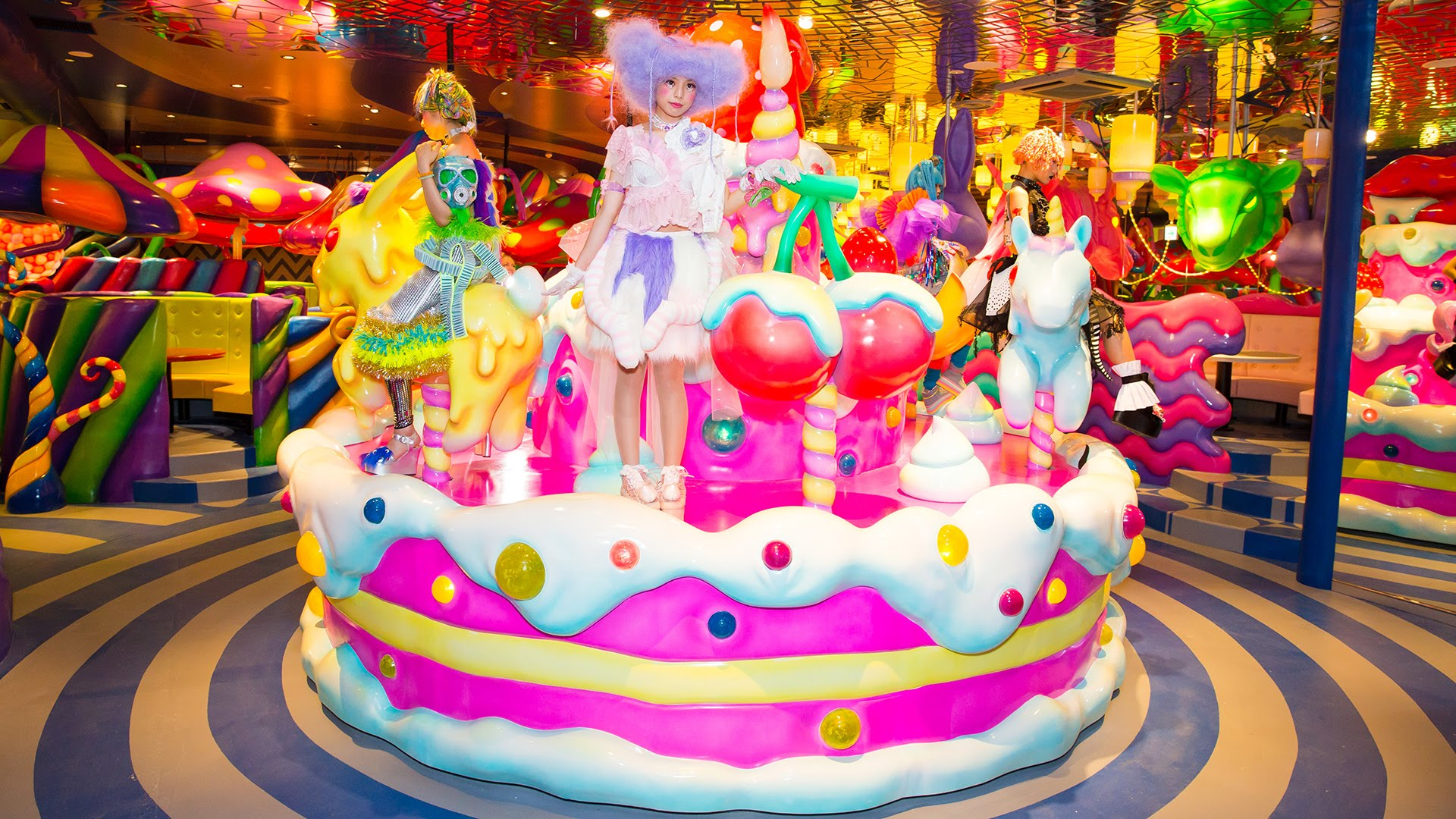 Harajuku Kawaii Monster Cafe