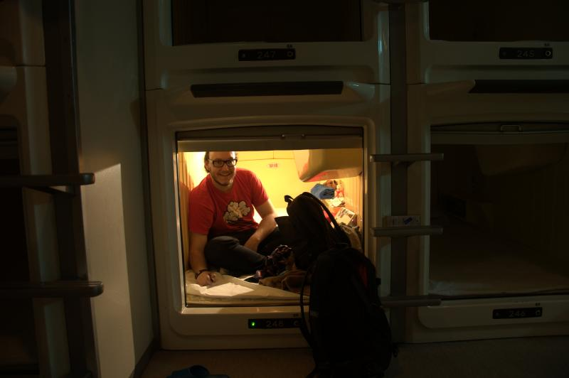Capsule Hotel Backpacker