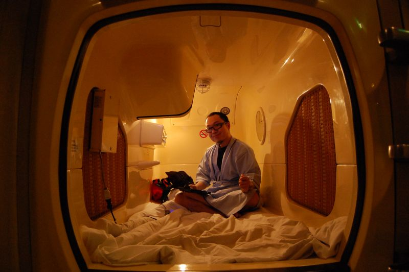 Capsule Hotel Opinion Income Ml