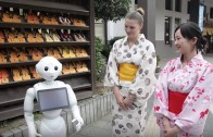 Japan robots help tourists in enjoying their visit