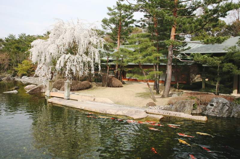 Kyoto State Guest House garden